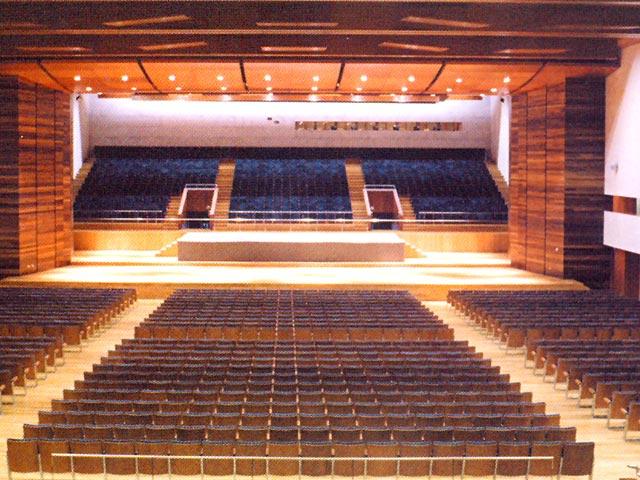 Auditorio principal palacio de congresos e exposici ns for Conciertos en santiago 2016